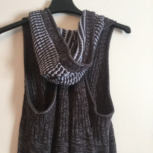 Free People Knit Hooded Vest